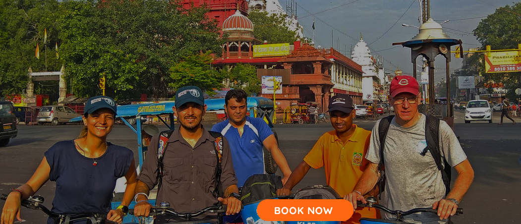 Experience Old Delhi by bike - 1 Day