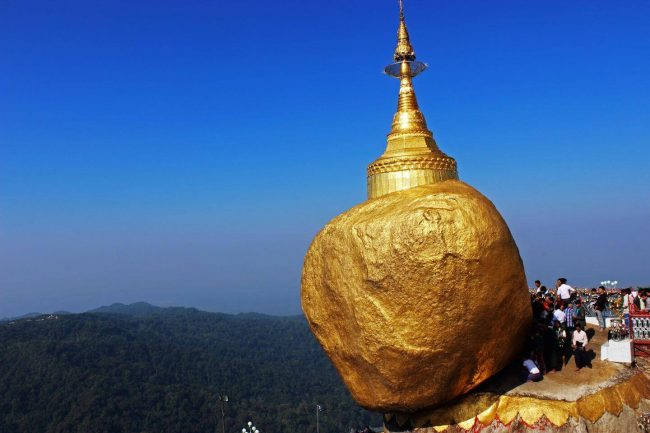 Yangon Biking and Trekking To Golden Rock – 3 Days